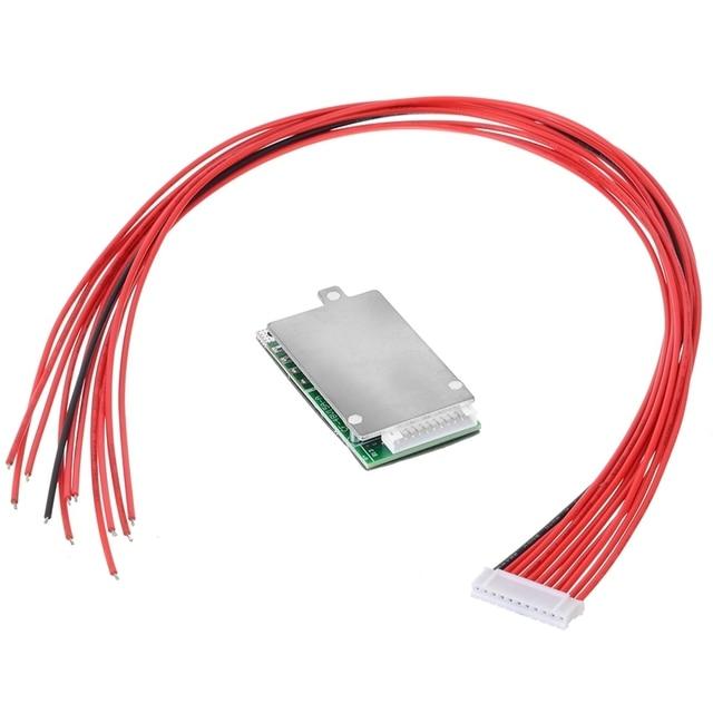 Lithium Battery Power Protection Board 10S 36V 37V 15A Li Ion Battery BMS PCB PCM