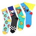 Детские носки из мультфильма Super Mario bros Odyssey Yoshi, аниме, фигурки героев, игрушки для мальчиков, косплей, детские подарки на день рождения и Рожд...