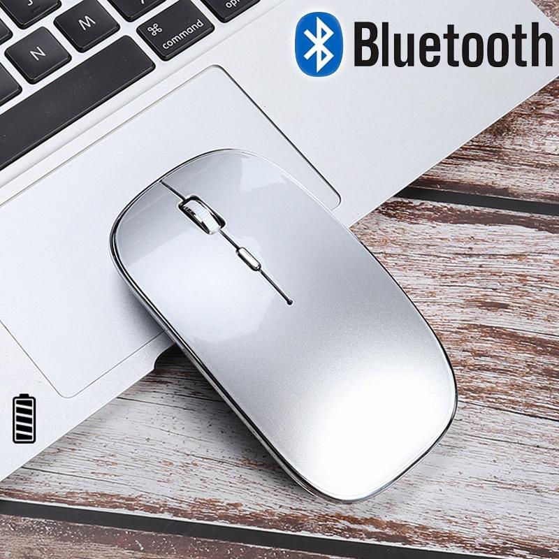 Souris sans fil pour Macbook air/pro 13 souris Bluetooth pour xiaomi huawei Lenovo souris Rechargeable souris sans fil pour portable