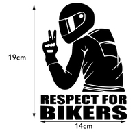 sticker motorcycle Universal Funny Car Stickers 3D Reflective Motorcycle helmet sticker Hood Decals Cool Design Car Accessories (2)