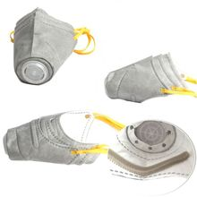 Dog Protective Muzzle Mask Pet Respiratory PM2.5 Filter Anti Dust Fog Puppy Mouth Cover L41A