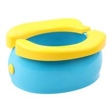 Portable Baby Infant Chamber Pots Cartoon Banana Foldaway To