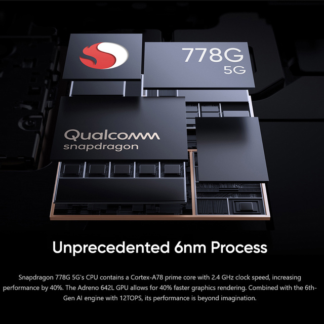 "Global Version realme GT Master Edition 6.43"" Smartphone Snapdragon 778G Octa-core 128GB/256GB 120Hz Super AMOLED Super Dart 65W 4"