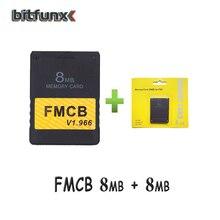FMCB ücretsiz McBoot kart V1.966 8MB/16MB/32MB/64MB + bellek kartı paketi 8MB/16MB/32MB/128MB