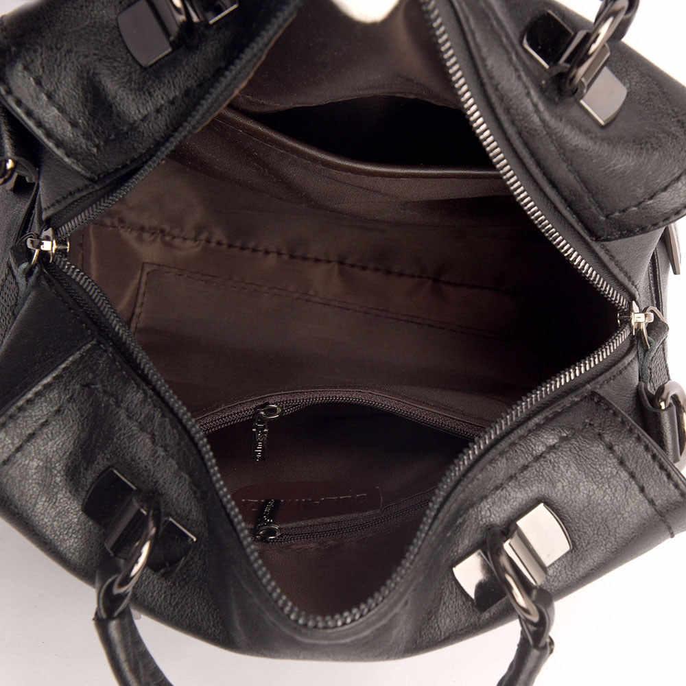 Bolsos Vintage de cuero suave para mujer con borla, bolso bandolera para mujer, Bolso bandolera de alta calidad, bolso de mano Casual