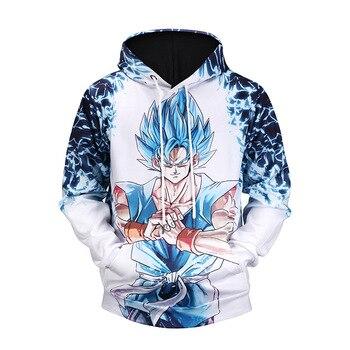Anime Dragon Ball Z Pocket Hooded Sweatshirts Kid Muscle Goku 3D Hoodies Pullovers Men Women Long Sleeve Outerwear New Hoodies hot sale anime dragon ball z pocket hooded sweatshirts kid goku 3d hoodies pullovers men women long sleeve outerwear hoodie