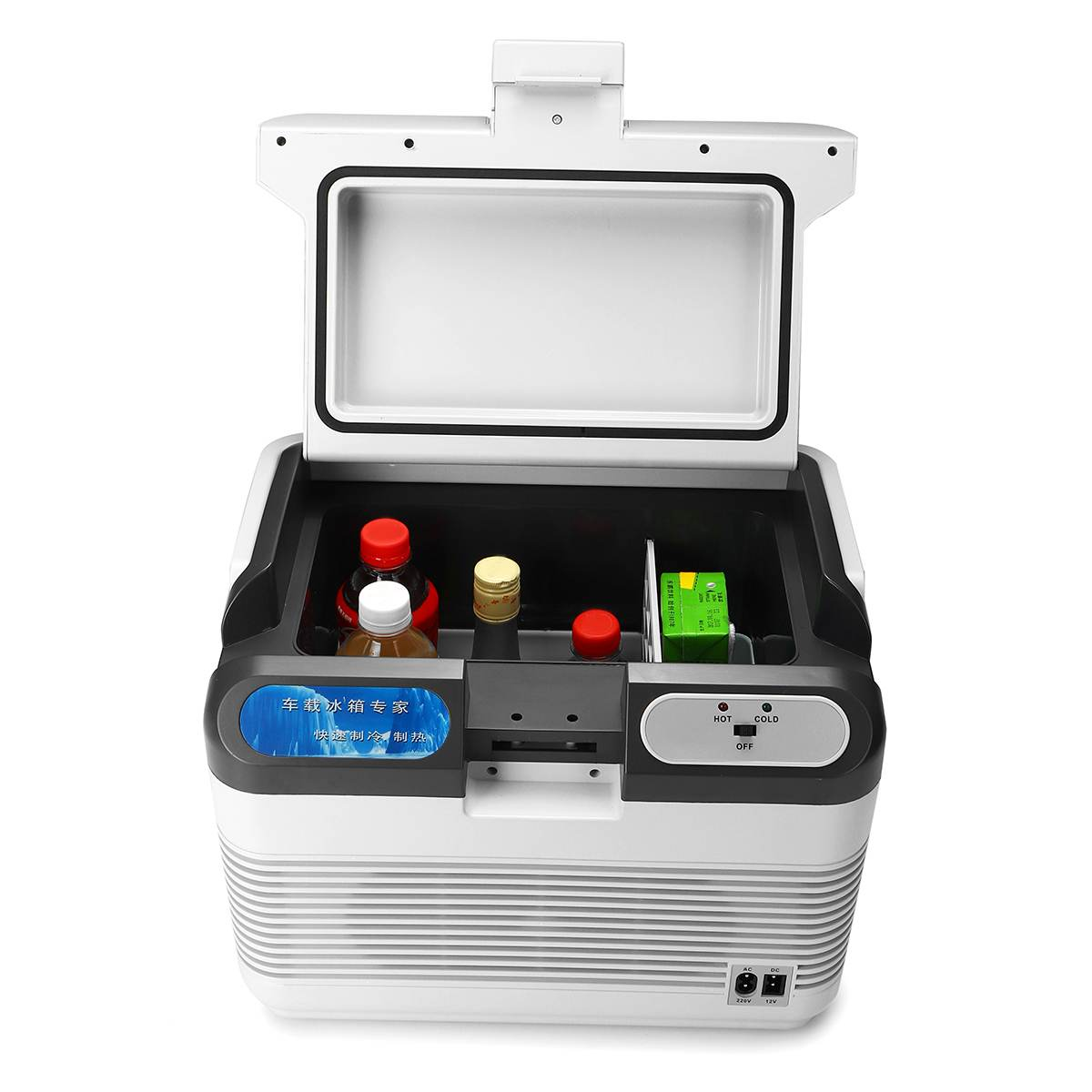 Mini Fridge Compressor Auto-Refrigerator Portable Camping Warmer 12L 12V/240V 10-65-Degree title=