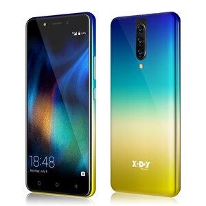 "Image 3 - XGODY 4G Dual Sim Smartphone אנדרואיד 9.0 5.5 ""18:9 HD מלא מסך 2GB 16GB MTK6737 Quad core 5MP מצלמה 2800mAh נייד טלפון K20"