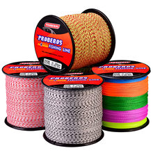 PROBEROS 300/500M Fishing Line 4 Strands Braided Wire 6LB-100LB Multifilament PE Fishing Wire Lines Carp Fishing Lure Pesca(China)