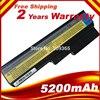 5200mAh batterie für Lenovo 3000 B460 B550 G550 G555 G430 L08L6Y02 G430L G450 N500 G450A G450M G455 G450 G530 g530A freies verschiffen