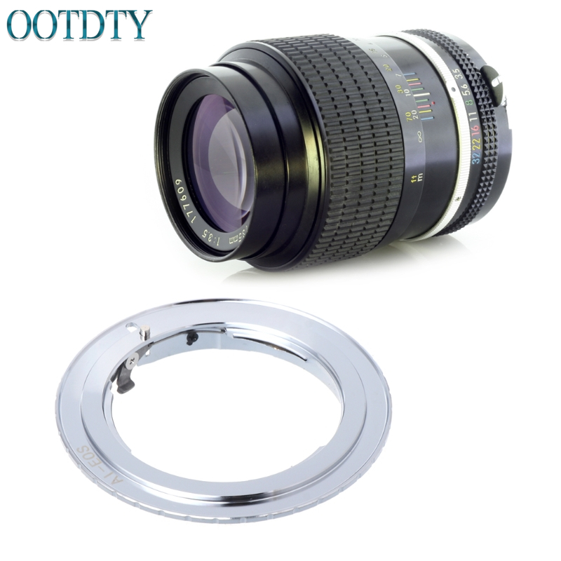 FOR AI-EOS Adapter For Nikon AI AI-S F Lens To Canon EF EOS Camera AF Confirm Ring