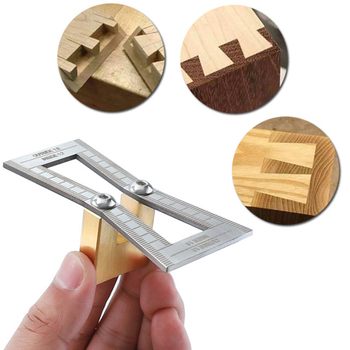 Dovetail Marker Dovetail Scribing tool Hand Cut Wood Joints Gauge Dovetail Guide Tool Dovetail Template Size 1:5-1:6 and 1:7-1:8 фото