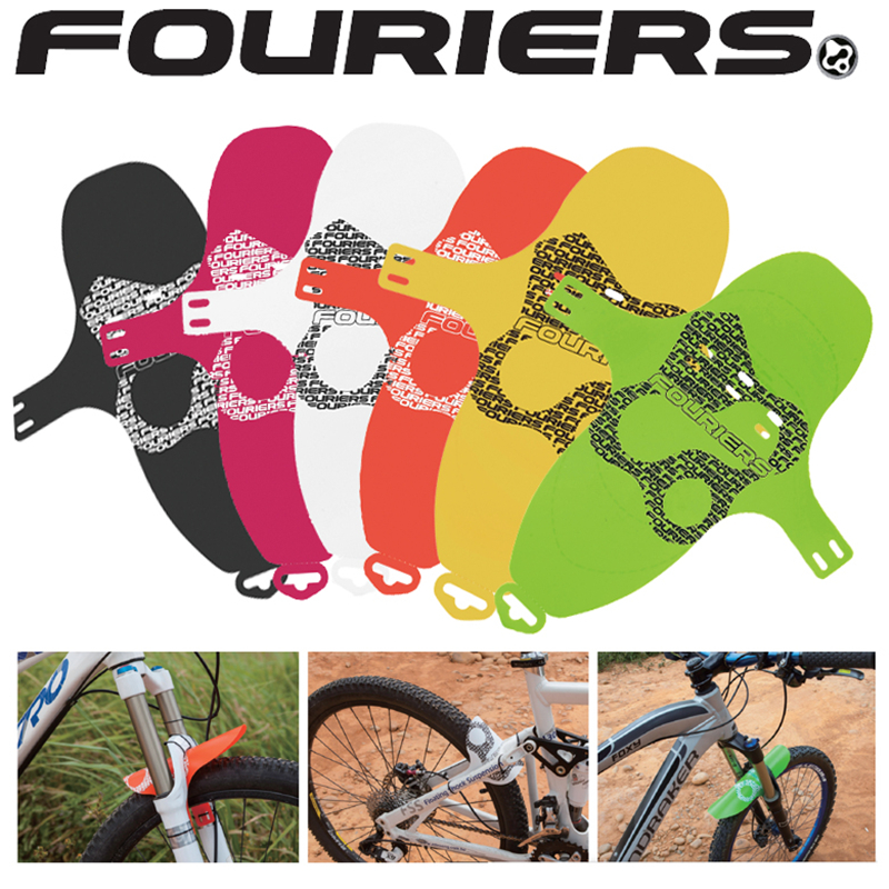 FOURIERS AC-MG001 Bicycle MTB Quick Release Fender Front Fork Portable Quick Release Mudguard 6 Colour
