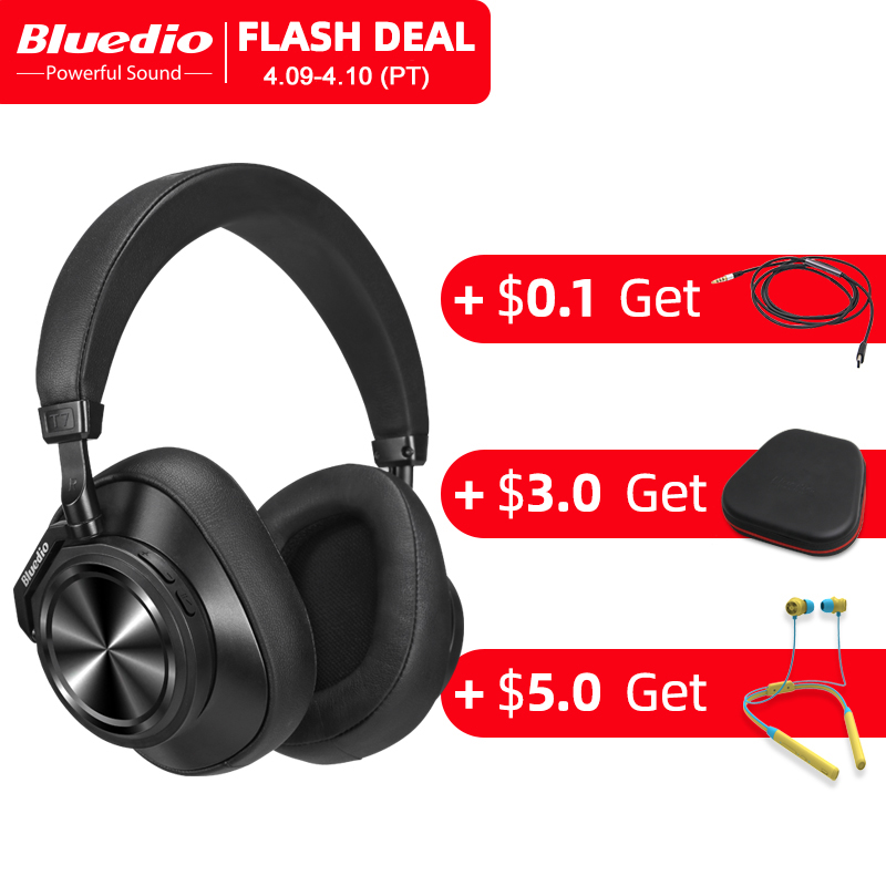 Bluedio T7 Bluetooth Headphones ANC Wireless Headset bluetooth 5.0 HIFI sound with 57mm loudspeaker face recognition for phone|Bluetooth Earphones & Headphones| |  - AliExpress