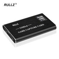Scheda di acquisizione Video compatibile HDMI 4K 60Hz 1080P 60fps piastra di registrazione di gioco scatola di Streaming Live USB 3.0 2.0 Grabber per fotocamera PS4