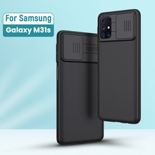 For Samsung Galaxy M31s Case 6.5 NILLKIN CamShield Case Slide Camera Protect Privacy Back Cover M51 for samsung case
