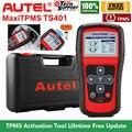 AUTEL MaxiTPMS TS401 TPMS OBD2 автомобильный Программируемый датчик шин активатор декодер считыватель кодов автомобильный диагностический инструмент