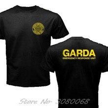 Nieuwe Ierland Ierse Cops Politie Swat Garda Emergency Response Unit Nieuwe Mode Merk Kleding Print Ronde Mannen Print T Shirt