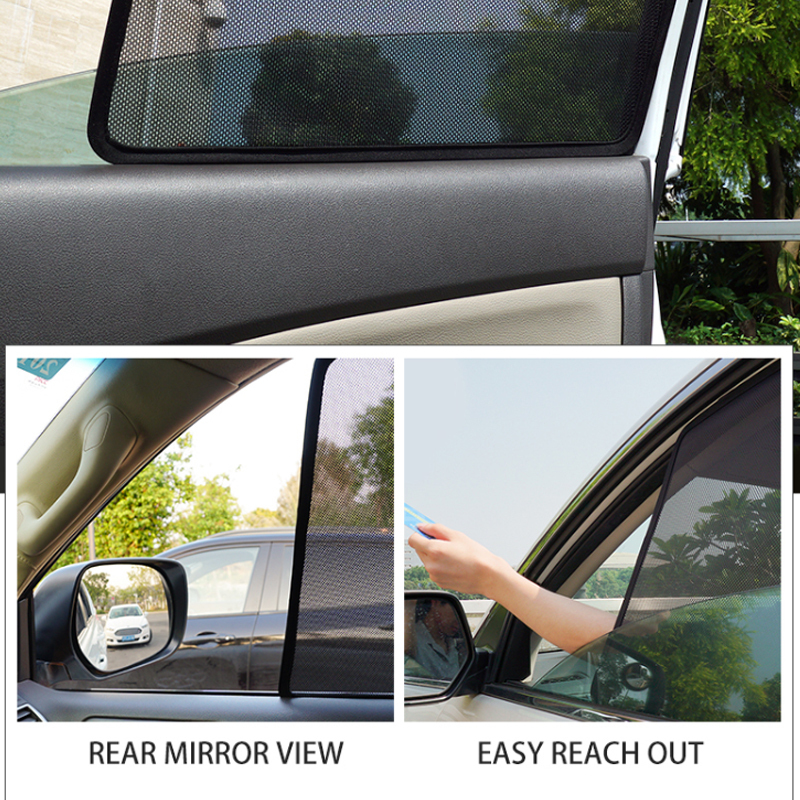 CT MAGNETIC CAR WINDOW SUN SHADE BLIND MESH REAR DOOR FOR Mercedes Benz ML 2012+