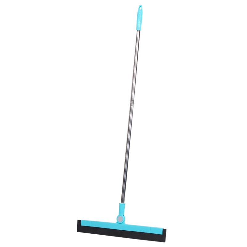 Magic Floor Squeegee With 180 Degree Adjustable 35.4Inch Long Handle Mops For Washing Drying Tile Glass Marble And Wood Surfaces