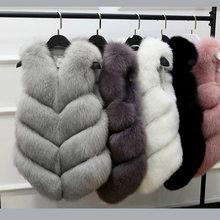 Меховое Женское пальто новинка 2020 модное из искусственного