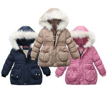 Autumn Winter Warm Jackets For Girls Coats For Boy Jackets