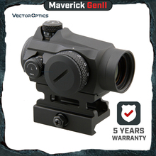 Векторная оптика Maverick GenII 1x22 Red Dot прицел охотничий оптический Тактический Uncapped башенка QD крепление для настоящего оружия страйкбол