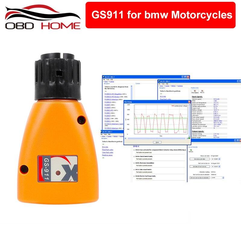 OBD2 GS 911 Für BMW OBD2 diagnose werkzeug GS-911 V 1006,3 Notfall Berufs Diagnose Werkzeug Für BMW Motorräder GS911