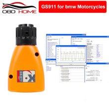 OBD2 GS 911 dla BMW OBD2 narzędzie diagnostyczne GS-911 V1006.3 w nagłych wypadkach profesjonalny diagnostyczny narzędzie do BMW motocykle GS911