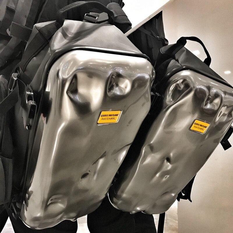 Mochila para hombre bolsa de daños por golpes de diseño de alta gama tendencia ins de corta distancia de viaje de entrenamiento deportivo de fitness mochila de viaje - 4