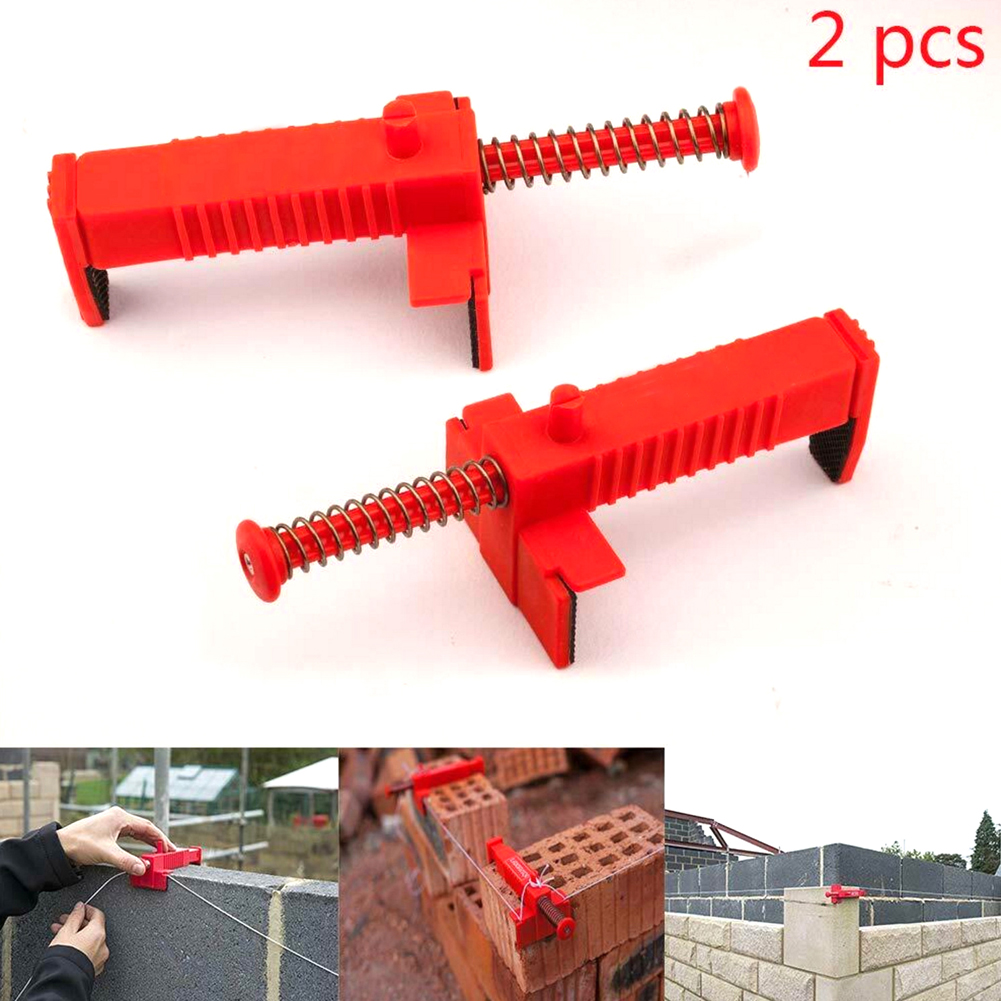 2Pcs Wire Drawer Bricklaying Tool Fixer For Building Fixator Brickwork Bricklayer Bricklaying Wire Puller For Building