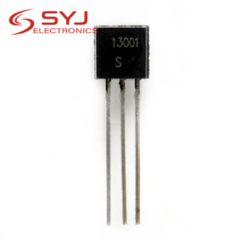 100pcs/lot MJE13001 MJE13003 PCR606J PCR406J 13001 13003 r606 r406 606j 406j TO-92 TO92 TRANSISTOR IC In Stock image