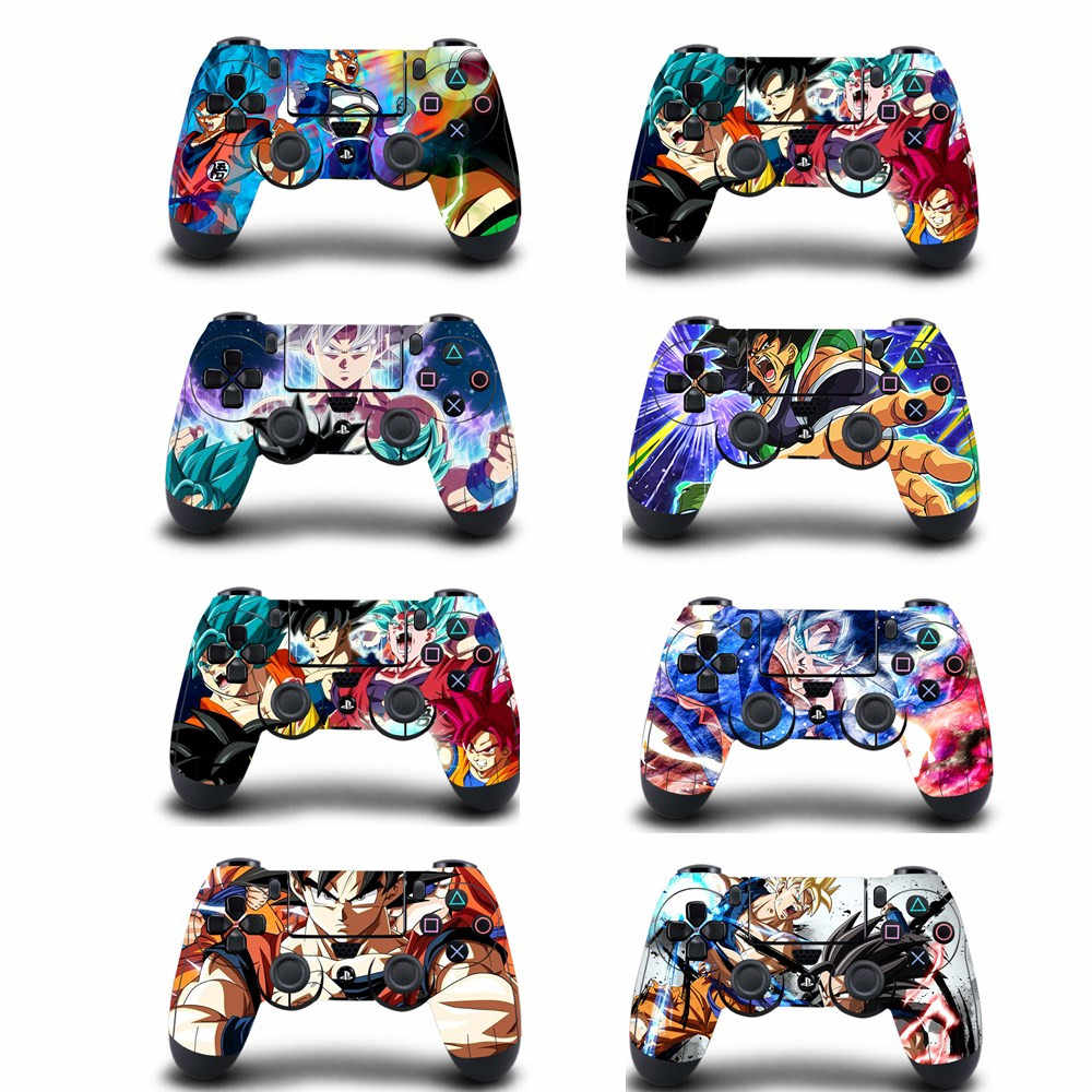 Anime Dragon Ball Super PS4 Kulit Sticker Decal Vinyl Cover UNTUK SONY PS4 PlayStation 4 DualShock 4 Controller Kulit Stiker kasus