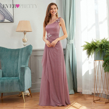 Evening-Dresses Beading Elegant Gown Night-Ever Vestidos Pretty Party Long Pink Woman