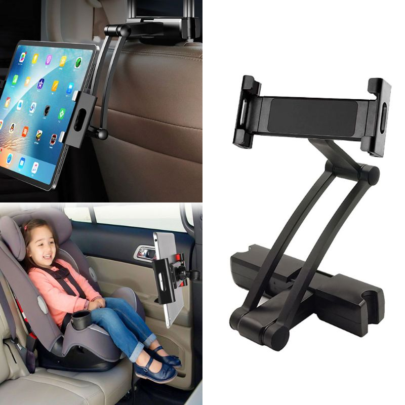 Universal Car Headrest Mount Holder for All 5 to 13 Inch Mobile Phone or Tablets