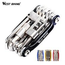 Многофункциональные инструменты для ремонта велосипеда стали 10 в 1 Набор Herramientas Bicicleta велосипедный складной ключ Ferramentas велосипедные инструменты