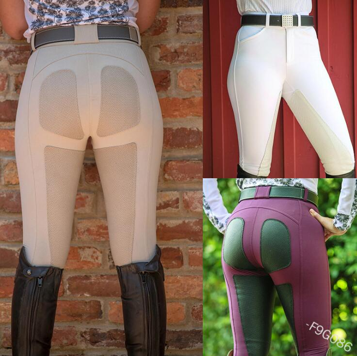 2020 New Elastic Aristocratic Equestrian Competition Pants Knight Pants Fashion Slim Body Lifting Buttock Super Large Size Fat I