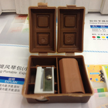 1pc Chocolate Shape Pencil Sharpener for Students Kids School Supplies Stationery