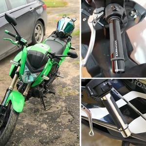 Image 5 - أغطية مقبض الدراجة النارية العالمية CNC ، 7/8 بوصة ، 22 مم ، لهوندا إنتيجرا ، كاواساكي نينجا 1000 ، ياماها Virago 535 Sv1000