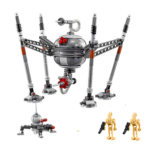 Bela 05025 320Pcs Star Wars Spider Robots Homing Droid Figure Model Building Block Toys Gift For Children Technic 75142(China)