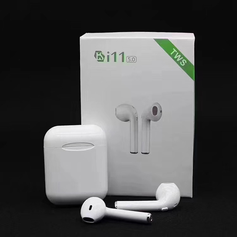 <font><b>i11</b></font> <font><b>TWS</b></font> <font><b>Bluetooth</b></font> <font><b>5.0</b></font> <font><b>Wireless</b></font> <font><b>Earphones</b></font> <font><b>Earpieces</b></font> mini Earbuds for iPhone X 6 7 8 Samsung S6 S7 S8 Huawei PK i7s i8 i9s image