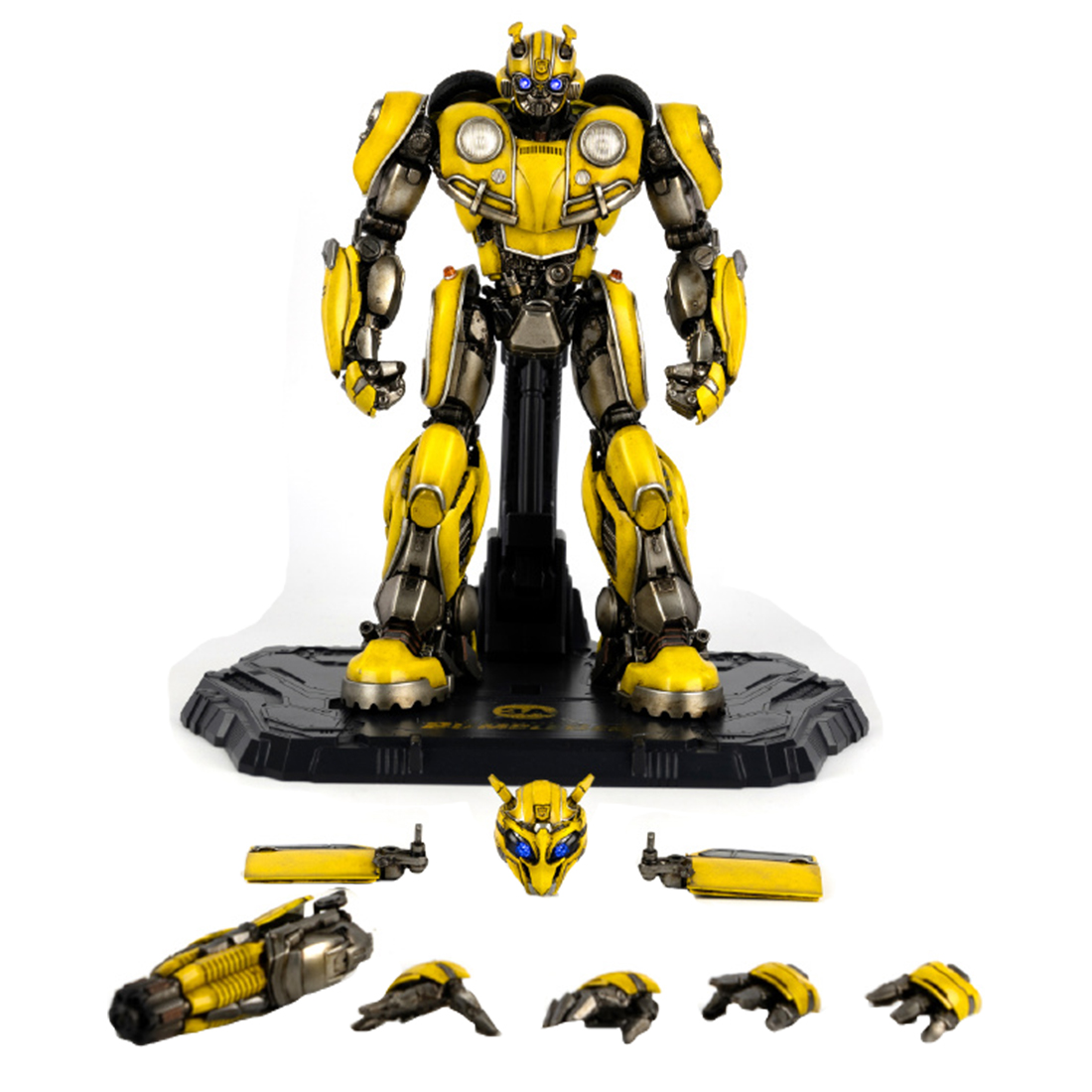 20cm For Bumblebee Toys Action Figure Toy Robot Anime Figure Model Kit For Children Adult Hot Sale