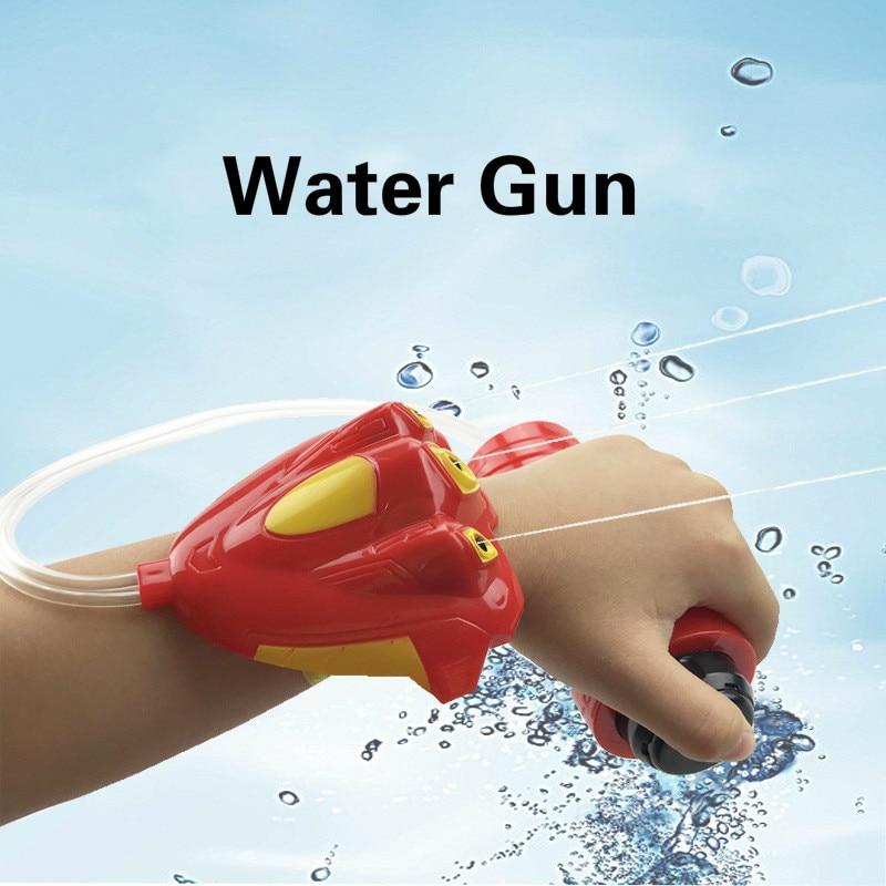 Children's Outdoor Beach Play Water Toys Summer Children's Wrist-type Spray Water Gun Hand-held Water Gun