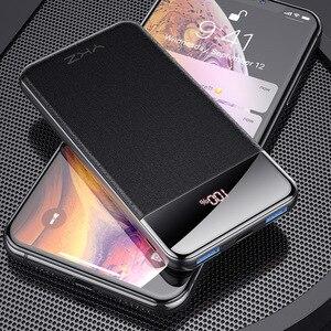Внешний аккумулятор PD QC3.0 USAMS power bank для iPhone Xiaomi Quick Charge 3,0 портативное Внешнее зарядное устройство для мобильного телефона huawei