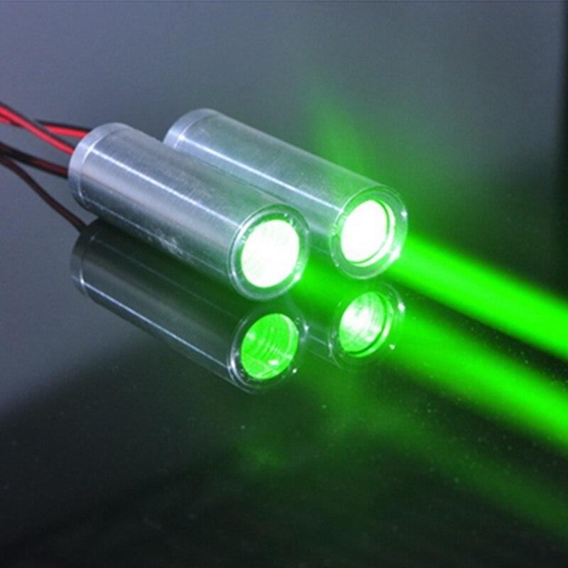 2 uds. De haz grueso verde láser módulo 532nm 50mw láser Show luces Bar KTV 22mm * 70mm Creativa LED inducción magnética levitación noche luz atmósfera lámpara para dormitorio sala de estar decoración del hogar Luz colorida