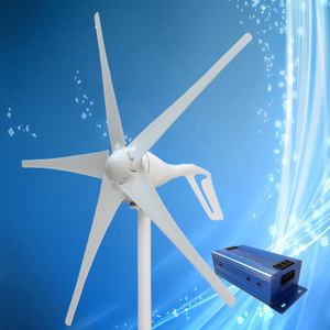 Image 2 - 2020 New Type 400W Wind Turbine with 3/5PCS Blades + 600W Multi Function Wind Turbine Charge Controller