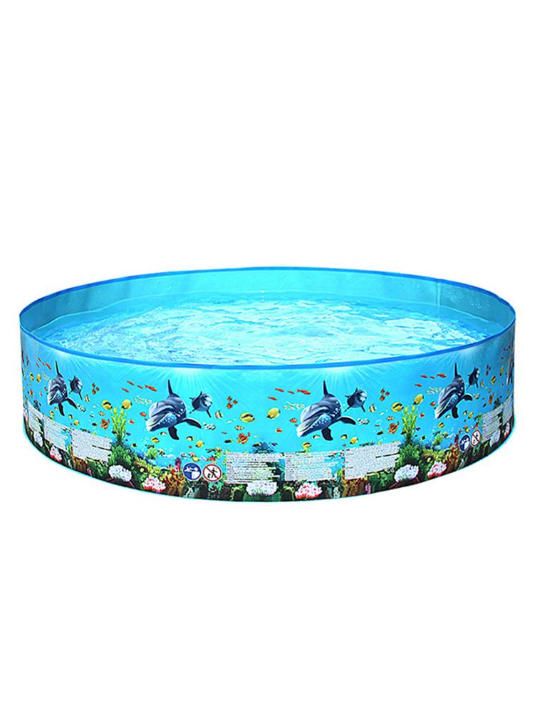 Inflatable Swimming Pool Round Paddling Pool Summer Outdoor Party Supplies For Kids Adult