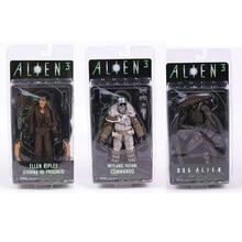 NECA ALIEN 3 אלן ריפלי/כלב Alien/Weyland Weyland yutani קומנדו אוסף 7 פעולה איור דגם צעצוע