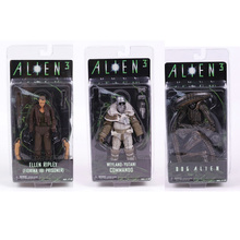 NECA ALIEN 3 Ellen Ripley / Dog Alien / Weyland Yutani Commando Collection 7 Action Figure Model Toy