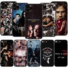 T183 Дневники вампира силиконовый мягкий чехол для iPhone 12 Mini 11 Pro XS Max XR X 8 7 6 6S Plus 5 5S SE 2020